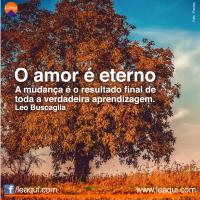 O amor é eterno