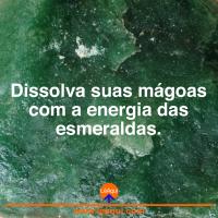 Dissolva suas mágoas com a energia das esmeraldas