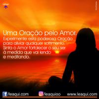 Uma oração pelo amor