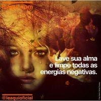 Lave sua alma e limpe todas as energias negativas