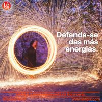 Defenda-se das más energias