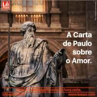 A Carta de Paulo sobre o Amor